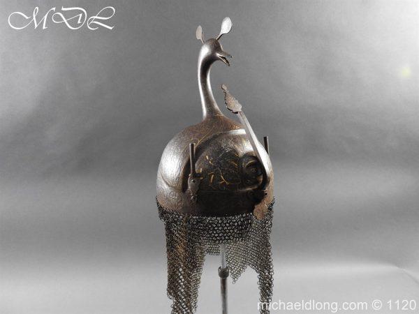 michaeldlong.com 14210 600x450 Persian Decorated Armour Mid 19th century