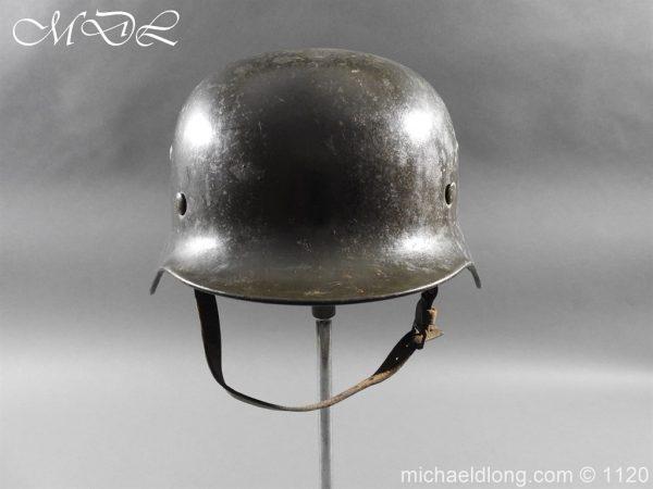 michaeldlong.com 14211 600x450 German Kriegsmarine Double Decal Helmet