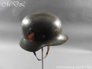 michaeldlong.com 14212 300x225 German Kriegsmarine Double Decal Helmet