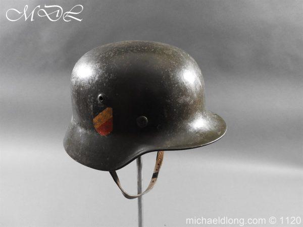 michaeldlong.com 14212 600x450 German Kriegsmarine Double Decal Helmet