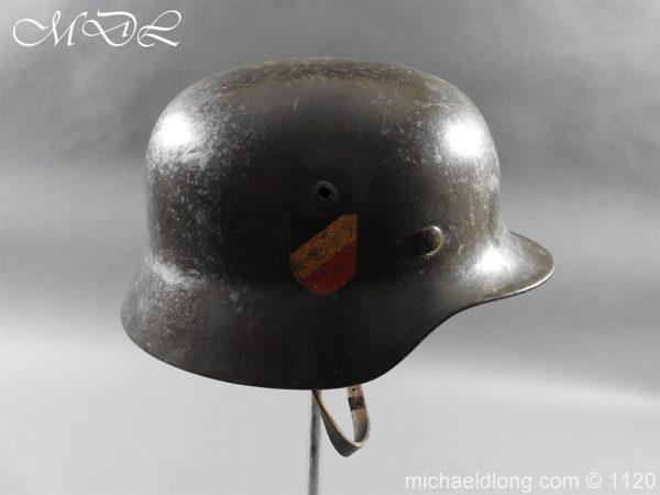 michaeldlong.com 14214 600x450 German Kriegsmarine Double Decal Helmet
