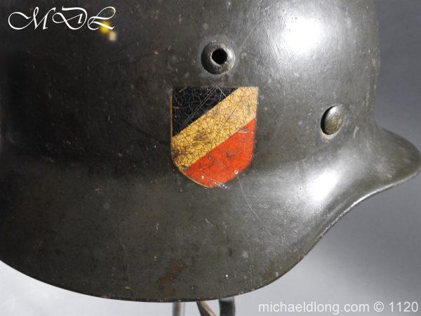 michaeldlong.com 14215 600x450 German Kriegsmarine Double Decal Helmet