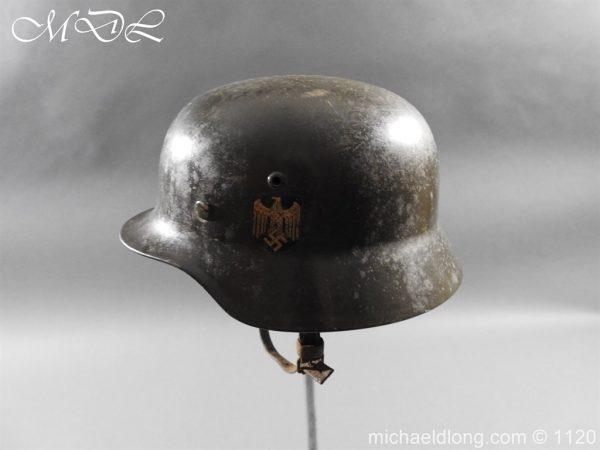 michaeldlong.com 14219 600x450 German Kriegsmarine Double Decal Helmet