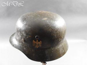 michaeldlong.com 14220 300x225 German Kriegsmarine Double Decal Helmet