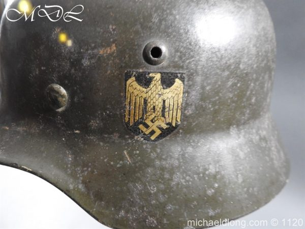 michaeldlong.com 14221 600x450 German Kriegsmarine Double Decal Helmet