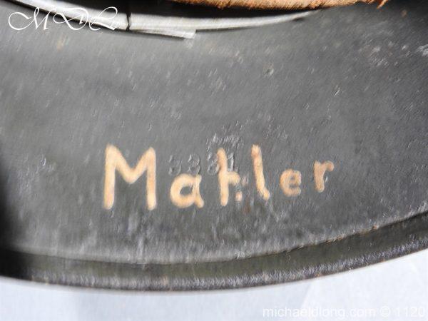 michaeldlong.com 14225 600x450 German Kriegsmarine Double Decal Helmet