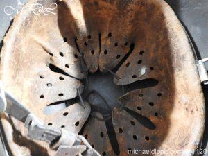 michaeldlong.com 14230 300x225 German Kriegsmarine Double Decal Helmet