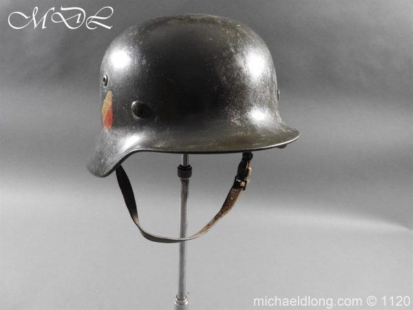 michaeldlong.com 14231 600x450 German Kriegsmarine Double Decal Helmet