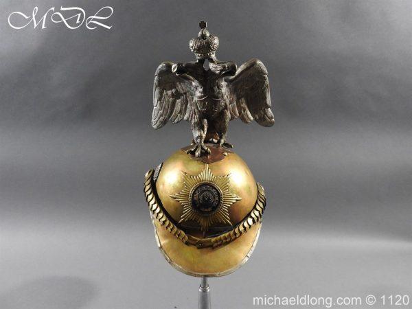 michaeldlong.com 14232 600x450 Imperial Russian Garde du Corps NCO Eagle Parade Helmet
