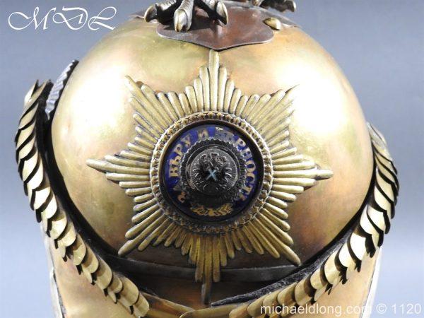 michaeldlong.com 14236 600x450 Imperial Russian Garde du Corps NCO Eagle Parade Helmet