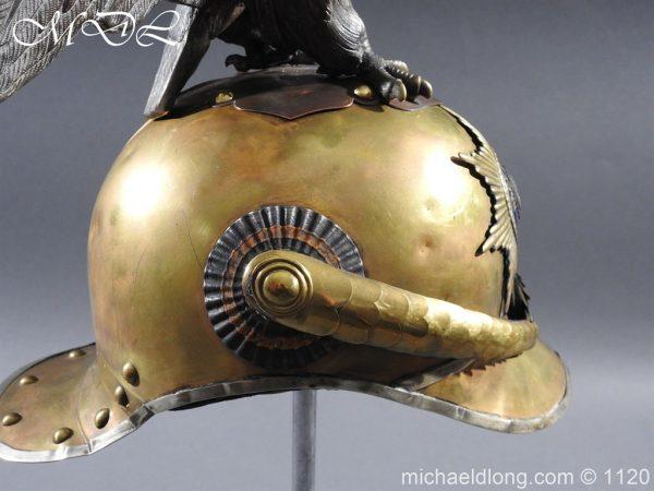 michaeldlong.com 14238 600x450 Imperial Russian Garde du Corps NCO Eagle Parade Helmet