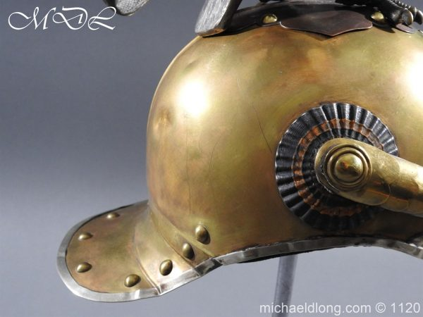 michaeldlong.com 14239 600x450 Imperial Russian Garde du Corps NCO Eagle Parade Helmet