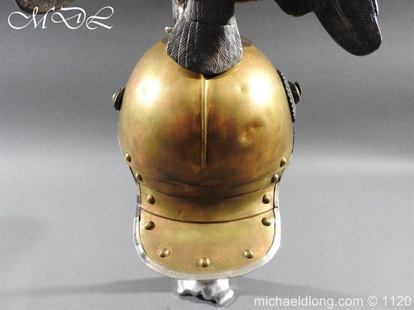 michaeldlong.com 14243 600x450 Imperial Russian Garde du Corps NCO Eagle Parade Helmet