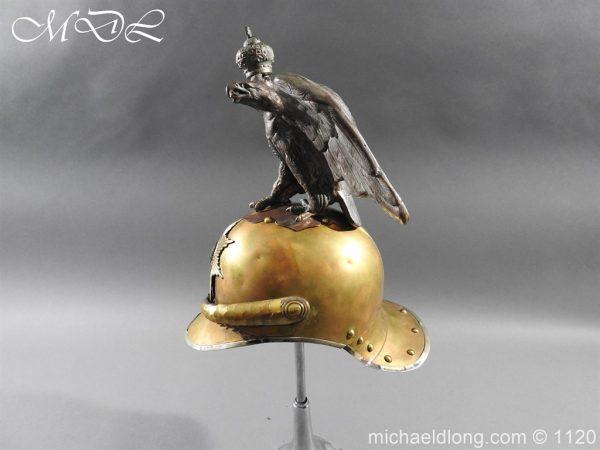 michaeldlong.com 14244 600x450 Imperial Russian Garde du Corps NCO Eagle Parade Helmet