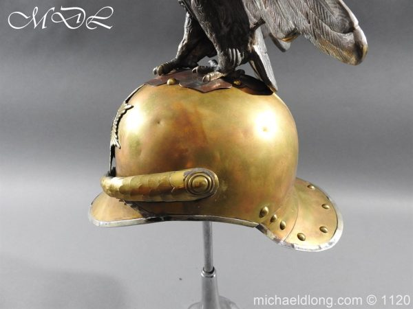 michaeldlong.com 14245 600x450 Imperial Russian Garde du Corps NCO Eagle Parade Helmet