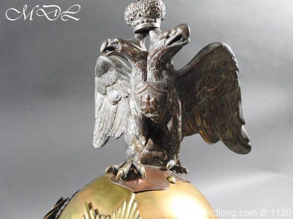michaeldlong.com 14248 600x450 Imperial Russian Garde du Corps NCO Eagle Parade Helmet