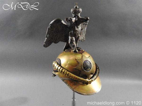michaeldlong.com 14253 600x450 Imperial Russian Garde du Corps NCO Eagle Parade Helmet