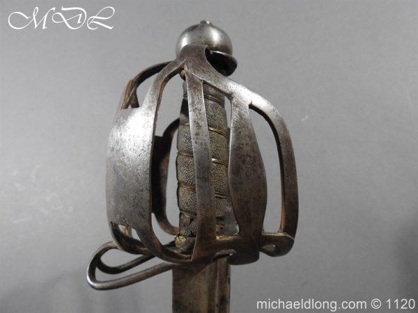 michaeldlong.com 14513 600x450 English Military 18th c Dragoon Sword