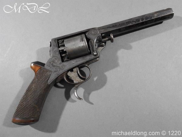 michaeldlong.com 14627 600x450 Tranter Patent 54 Bore Double Trigger Revolver