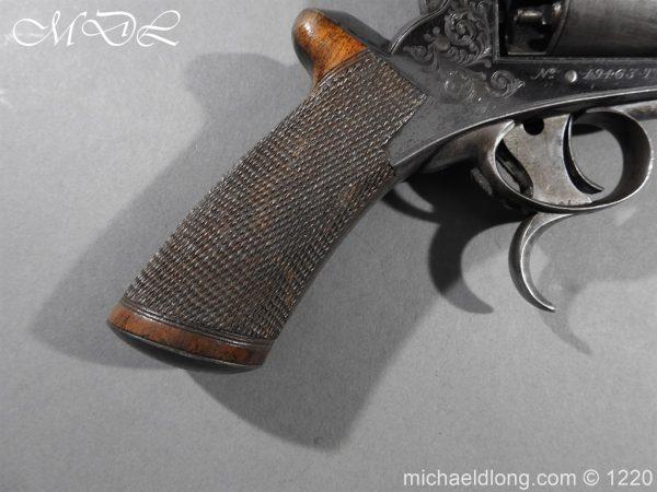 michaeldlong.com 14628 600x450 Tranter Patent 54 Bore Double Trigger Revolver