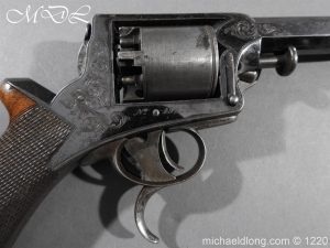 michaeldlong.com 14629 300x225 Tranter Patent 54 Bore Double Trigger Revolver