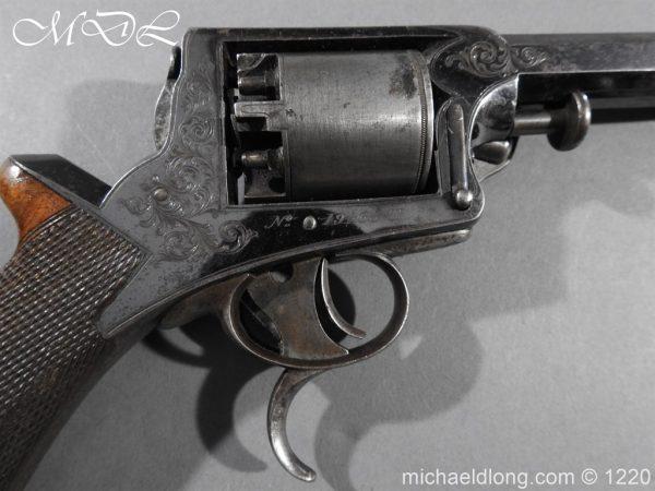 michaeldlong.com 14629 600x450 Tranter Patent 54 Bore Double Trigger Revolver