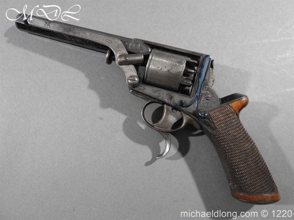 michaeldlong.com 14632 600x450 Tranter Patent 54 Bore Double Trigger Revolver