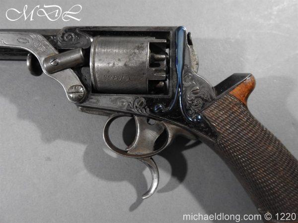 michaeldlong.com 14634 600x450 Tranter Patent 54 Bore Double Trigger Revolver