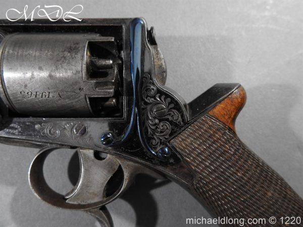 michaeldlong.com 14635 600x450 Tranter Patent 54 Bore Double Trigger Revolver