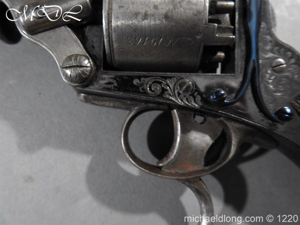 michaeldlong.com 14636 600x450 Tranter Patent 54 Bore Double Trigger Revolver