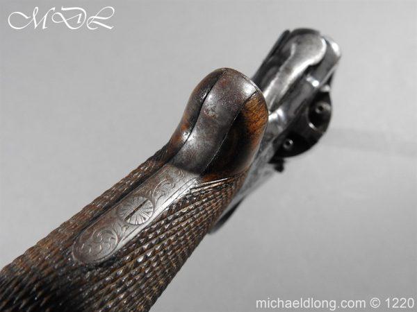michaeldlong.com 14644 600x450 Tranter Patent 54 Bore Double Trigger Revolver