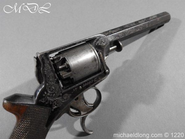 michaeldlong.com 14647 600x450 Tranter Patent 54 Bore Double Trigger Revolver
