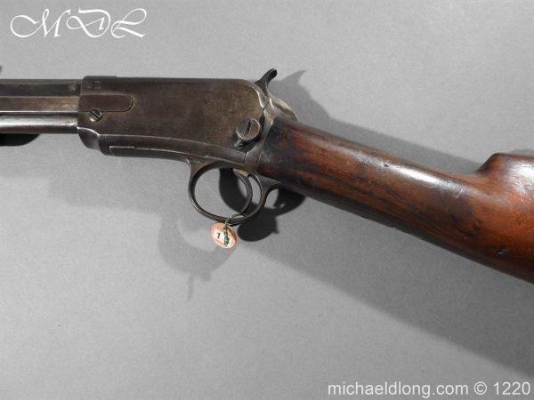 michaeldlong.com 14767 600x450 Winchester 1890 Pump Action .22 Rifle Deactivated