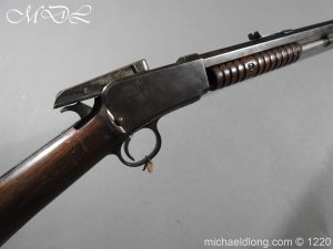 michaeldlong.com 14774 300x225 Winchester 1890 Pump Action .22 Rifle Deactivated