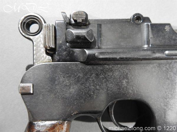 michaeldlong.com 14779 600x450 Mauser C96 Pistol Deactivated