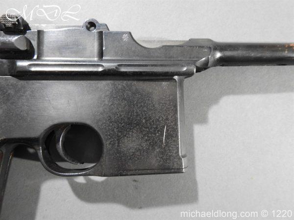 michaeldlong.com 14780 600x450 Mauser C96 Pistol Deactivated
