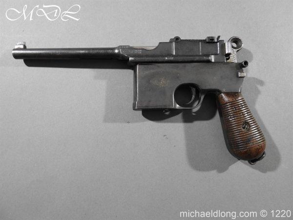 michaeldlong.com 14782 600x450 Mauser C96 Pistol Deactivated