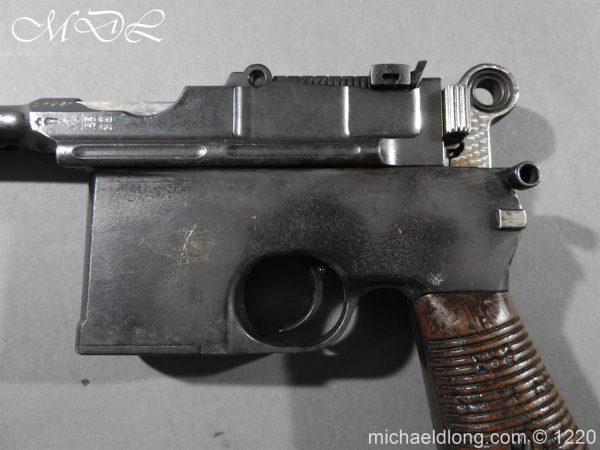 michaeldlong.com 14784 600x450 Mauser C96 Pistol Deactivated