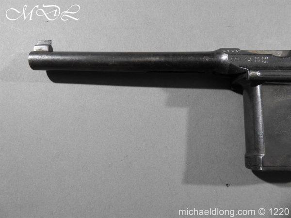 michaeldlong.com 14785 600x450 Mauser C96 Pistol Deactivated