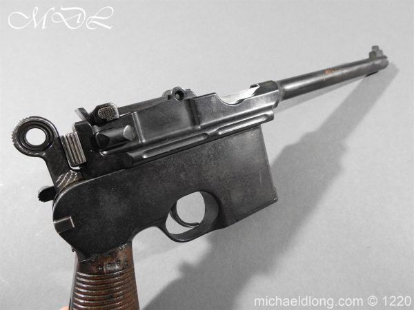 michaeldlong.com 14792 600x450 Mauser C96 Pistol Deactivated