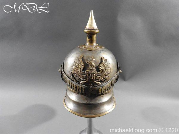 michaeldlong.com 14929 600x450 Prussian M1867 NCO Cuirassier Cavalry Helmet