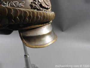 michaeldlong.com 14934 300x225 Prussian M1867 NCO Cuirassier Cavalry Helmet