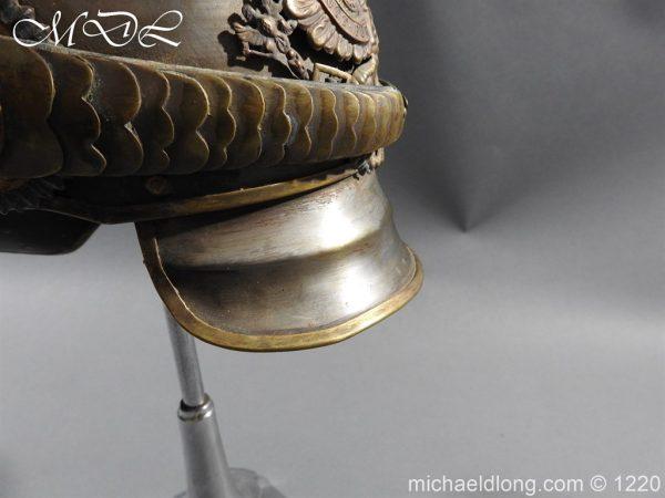 michaeldlong.com 14934 600x450 Prussian M1867 NCO Cuirassier Cavalry Helmet