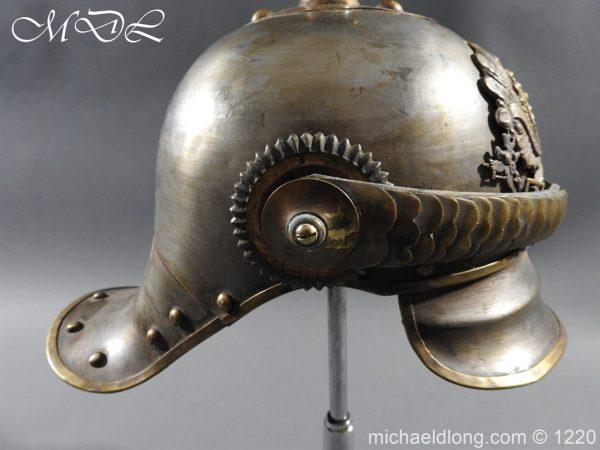 michaeldlong.com 14935 600x450 Prussian M1867 NCO Cuirassier Cavalry Helmet