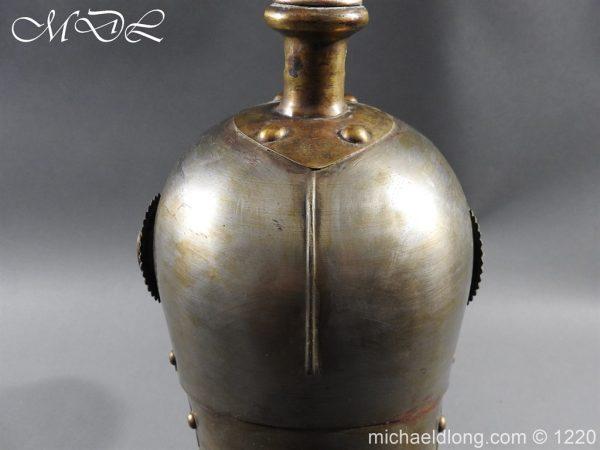 michaeldlong.com 14937 600x450 Prussian M1867 NCO Cuirassier Cavalry Helmet