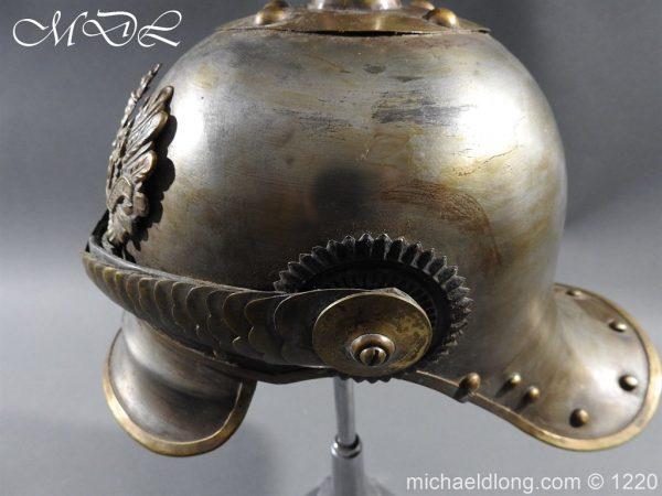 michaeldlong.com 14941 600x450 Prussian M1867 NCO Cuirassier Cavalry Helmet