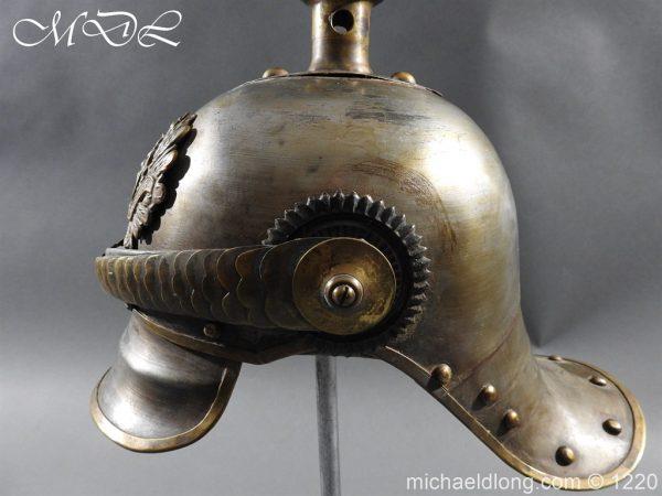 michaeldlong.com 14942 600x450 Prussian M1867 NCO Cuirassier Cavalry Helmet
