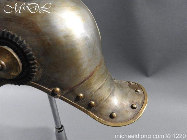 michaeldlong.com 14943 600x450 Prussian M1867 NCO Cuirassier Cavalry Helmet