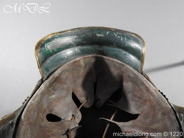michaeldlong.com 14947 600x450 Prussian M1867 NCO Cuirassier Cavalry Helmet