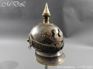 michaeldlong.com 14949 300x225 Prussian M1867 NCO Cuirassier Cavalry Helmet